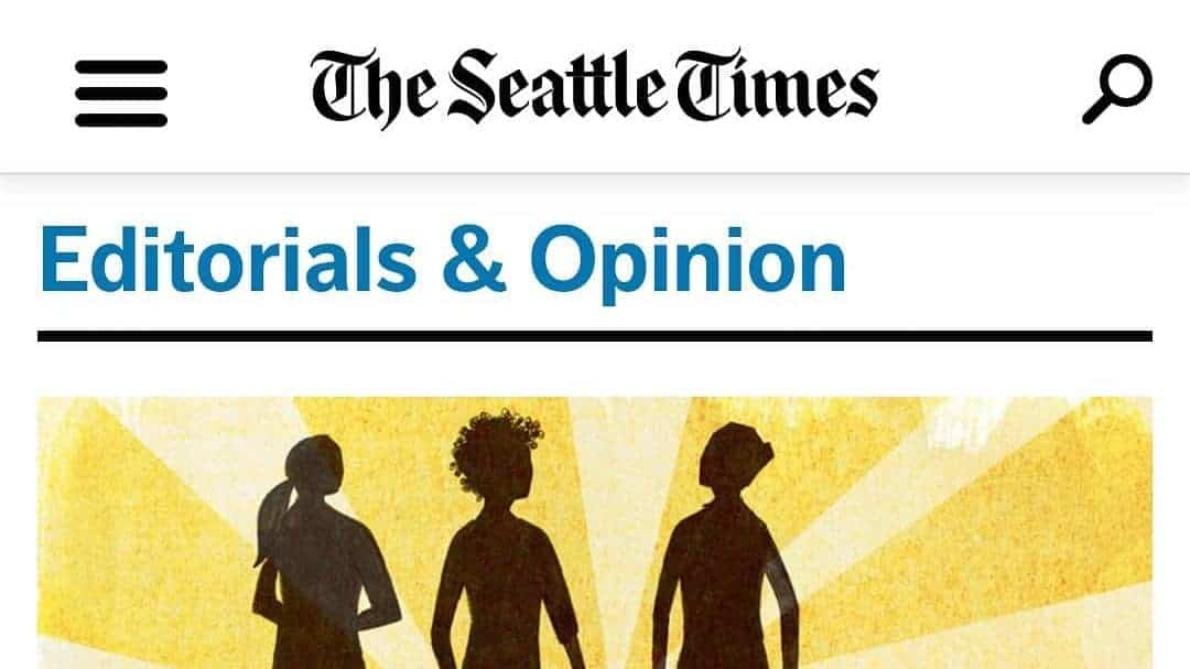 "Screenshot of the SEattle Times Oped ""Coronavirus: Remember students with disabilities in a time of crisis"""
